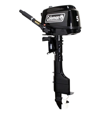 Coleman 5HP Easy Start Outboard Boat Motor