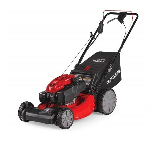 Craftsman M275 159cc 21-Inch 3-in-1 High-Wheeled Self-Propelled FWD Gas Powered Lawn Mower
