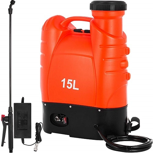 Happybuy Battery Powered Backpack Sprayer