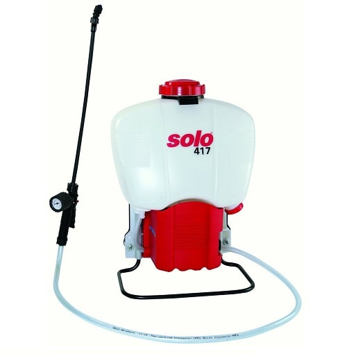 Solo 417-18L 4.5-Gallon Battery Powered Backpack Sprayer