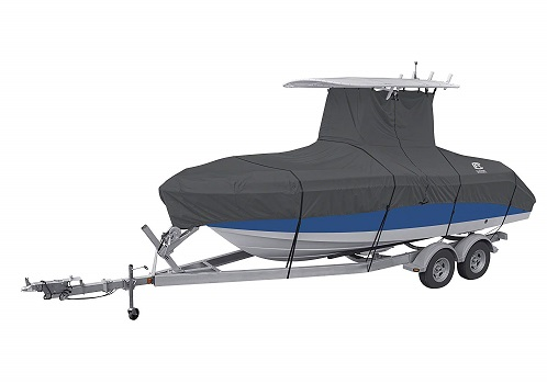 Classic Accessories StormPro Heavy Duty Center Console T-Top Roof Boat Cover