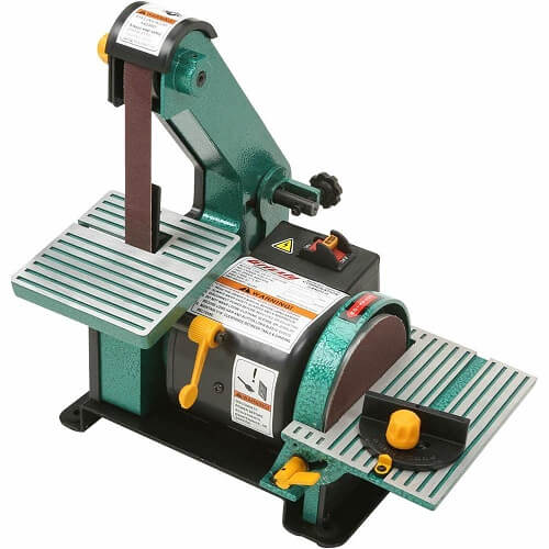 Grizzly Industrial H6070-1 x 30 Belt 5 Disc Combo Sander