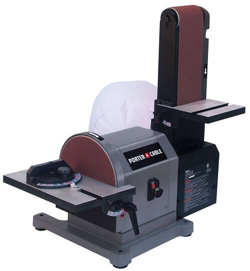Porter-Cable PCB420SA Belt with 8 Disc Bench Sander