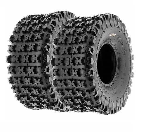 Set of 2 SunF A027 XC ATV UTV Knobby Sport Tires