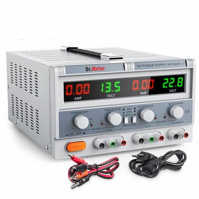 Dr.meter Triple Linear Variable DC Power Supply