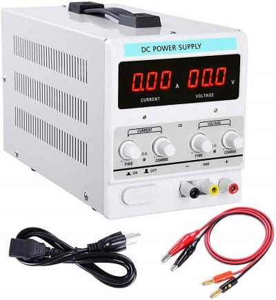 Yescom 110V AC 30V 10A DC Power Supply