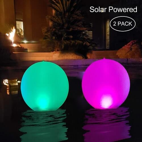 Floating Pool Lights Inflatable Waterproof IP68