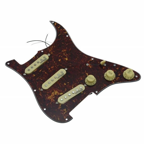 KAISH Vintage Tortoise Loaded Electric Guitar Pickguard Prewired Pickguard