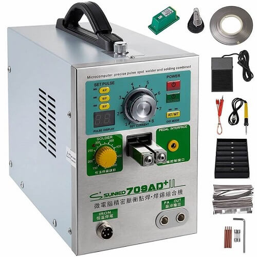 Mophorn 709AD+ Pulse Spot Welder 0.3mm