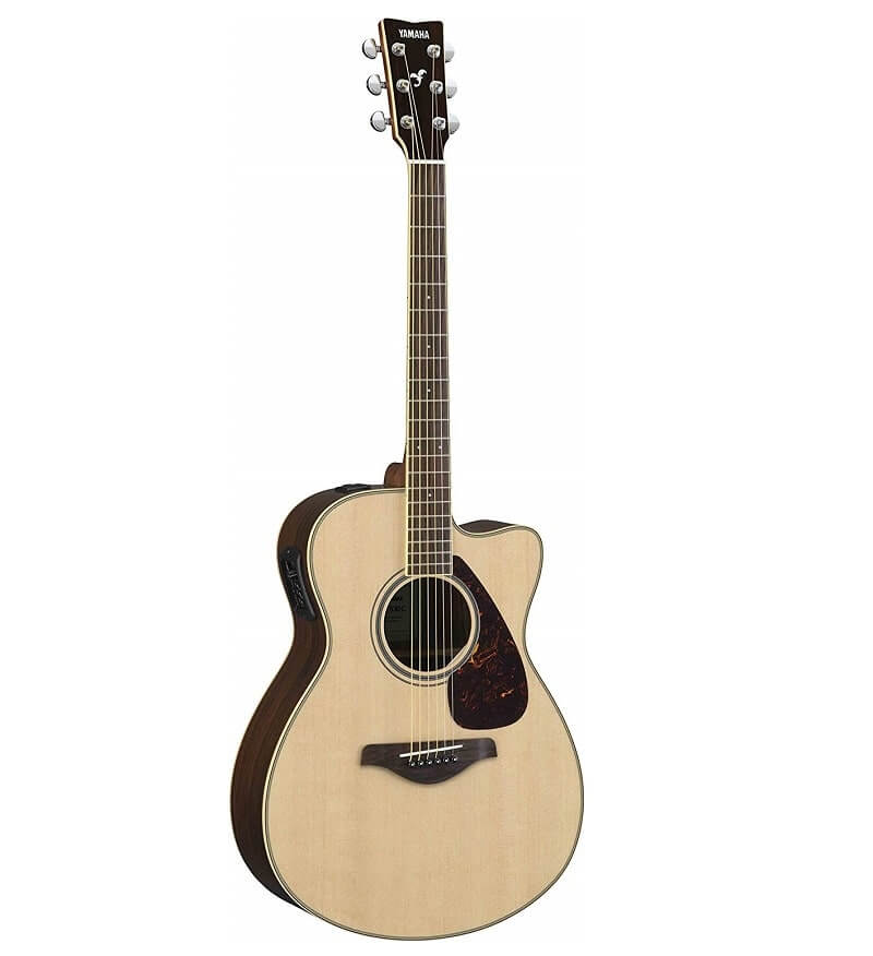 Yamaha FSX830C Small Body Solid Top Cutaway Acoustic-Electric Guitar